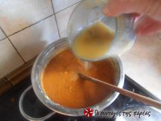 """Κόκκινες φακές σε σούπα, μία """"άγνωστη"""" νοστιμιά!!! συνταγή από ggr - Cookpad Fondue, Cheese, Ethnic Recipes"""
