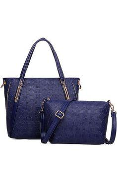50308b92b4 Euro Latest Trendy Luxury Fashion 2 in 1 Set Blue - Lulugift.com  Affordable