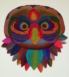 My Owl Barn: Crochet Art by Ann Benoot