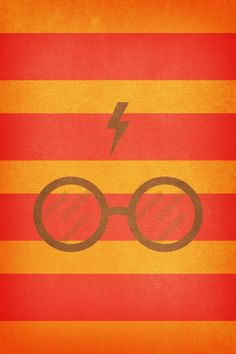 Harry Potter - Sfondo iPhone 4 / iPhone 4s - Magic - (Rosso, Giallo)
