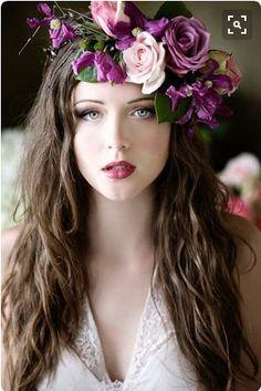 #Floral Crown #Women #Flowers