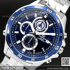 Casio Edifice Chronograph Super illuminator Sport Watch EFR-547D-2AV, EFR547D
