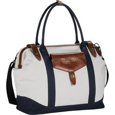 320cc9c415 Now here's a duffel bag for the ladies :) The Cutter & Buck Legacy Cotton Duffel  Bag is ideal for carrying golf apparel for women and other personal ...