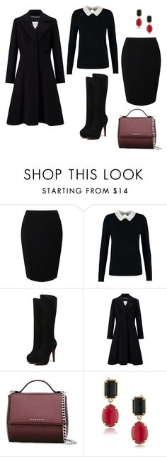 """""""Bez tytułu #726"""" by dodka529 on Polyvore featuring moda, Jacques Vert, Dorothy Perkins, John Lewis, Givenchy i 1st & Gorgeous by Carolee"""