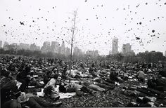 Peace Demonstration, Central Park, Garry Winogrand, 1970 © The Estate of Garry Winogrand