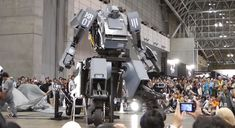 Giant Japanese robot will fistfight America's MegaBot