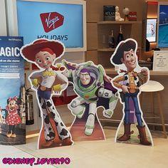 Instagram - @disney_lover90 Seen these in the doorway to Virgin Holidays in Braehead 😍 take me to Disney!! #disney #disneylover #disneycollector #waltdisney #disneypixar #disneymerch #toystory #sheriffwoody #woody #buzzlightyear #jessie Disney Disney, Disney Parks, Virgin Holidays, Sheriff Woody, Jessie Toy Story, Disney Collector, Disney Dining, Buzz Lightyear, Doorway