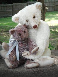 OOAK MOHAIR ARTIST TEDDY BEAR by RACHEL WARD of  ~BARRICANE BEARS~