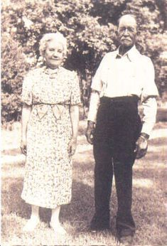 Laura and Almanzo in 1940 -- Laura would live until 1957