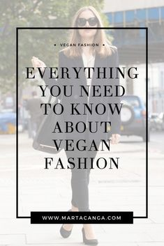 Everything You Need To Know About Vegan Fashion Marta Canga | Vegan Fashion | Vegan Clothing | Ethical Fashion | Vegan Style.