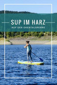 Stand Up Paddling auf der Okertalsperre im Harz