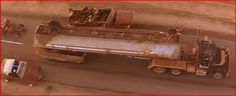 Mad Max 2 / The Road Warrior Vehicles - The Mack Truck Mad Max Road, Mad Max 2, The Sweetest Thing Movie, The Road Warriors, Twisted Metal, Mack Trucks, Greatest Songs, Tv, Television Set