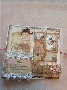 Paper bag journal junk journal, art journal pages, scrapbooking diy, videos, paper Fabric Journals, Journal Paper, Art Journal Pages, Fabric Books, Scrapbook Journal, Altered Books, Altered Art, Handmade Journals, Vintage Journals