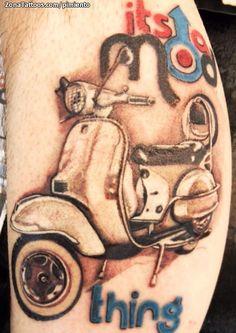 Motos Vespa, Vespa Scooters, Skinhead Tattoos, Mod Look, Rude Boy, Tattoo Designs, Tattoo Ideas, Body Art Tattoos, Tatuajes Tattoos
