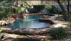 Small Backyard Pool Ideas | Organic Swimming Pools | Calfinder Remodeling Blog