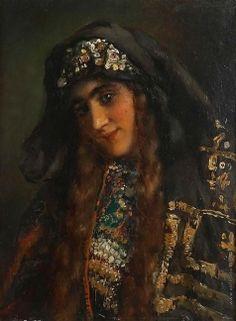 Маковский К. Е. Женская головка
