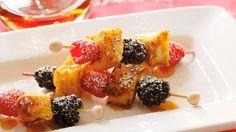 15 Fun Breakfast Ideas for Kids: Toast-em Poles #Hallmark #HallmarkIdeas