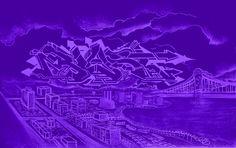 BILL BLAST http://www.widewalls.ch/artist/bill-blast/ #graffiti #murals #streetart
