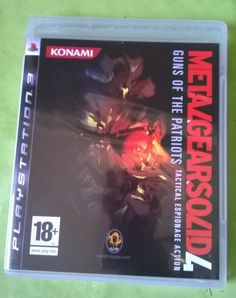 METAL GEARS SOLID 4 - Guns of the Patriots  - PS3 - comme neuf avec notice