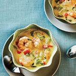 Quick Shrimp Chowder - Lunch Light Comfort Food Ideas