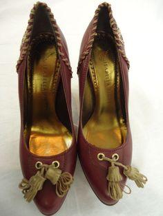 ISABELLA FIORE Women High-Heel SHOES wine color Size 6.5 #IsabellaFiore #PumpsClassics Pumps, Shoes Heels, Flats, Moccasins, High Heels, Wine, Best Deals, Classic, Ebay