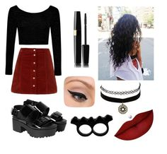 """""""Charlie xcx inspired"""" by lydiajaynerogers on Polyvore featuring Boohoo, Monki, Charlotte Russe, L'Artisan Créateur, LORAC and Anastasia Beverly Hills"""