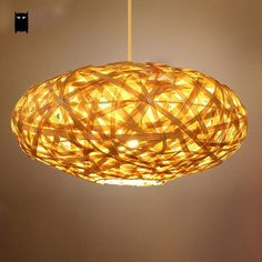 Compare Best Price for Bamboo Wicker Rattan Round Lantern Shade Pendant Light Fixture Rustic Country Vintage Suspended Lamp Custom Design . Ceiling Lamp, Hanging Ceiling Lamps, Ceiling Lights, Cool Things To Buy, Hanging Light Fixtures, Lights, Pendant Light, Light, Pendant Light Fixtures