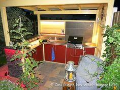 Casolli´s kleine Genusswelt: Bauprojekt Outdoor-Küche - Teil 7: Finale, Grillpavillon, Außenküche, Outdoorkitchen