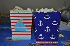 Sailor/nautical Birthday Party Ideas | Photo 13 of 23 | Catch My Party