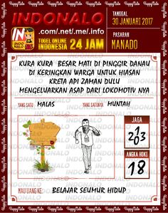 Nomer Tafsir 2D Togel Wap Online Live Draw 4D Indonalo Manado 30 Januari 2017