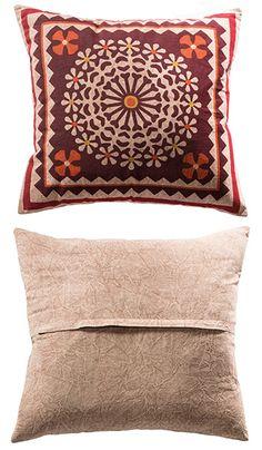 Jaipur indian print cotton cushion cover 45 x 45cm, £8.99