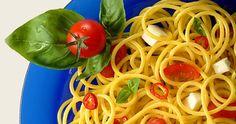 """Спагетти """"Капрезе"""""""