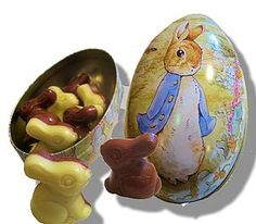 Beatrix Potter Easter Egg Tin Filled - very cute!