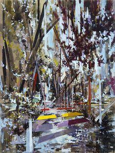 WWC//david schnell artist three painting