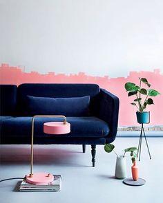 Navy + pink  ⠀⠀ ⠀⠀⠀⠀⠀⠀ ⠀⠀⠀⠀⠀ ⠀ ⠀ ⠀⠀⠀⠀⠀⠀ ⠀⠀⠀⠀⠀⠀ ⠀⠀⠀⠀⠀⠀ ⠀⠀⠀⠀⠀ photo credit : @dominomag ⠀⠀⠀⠀⠀⠀⠀⠀⠀⠀⠀⠀ ⠀⠀⠀⠀⠀⠀⠀ ⠀⠀⠀⠀⠀ #interiordesign #interiors #homewares #homestyle #homedecor #interiorstyling #colourmehappydecorating #homestyle #interiordecorating #homeinspo #interiorinspo #interiordecorating #likeforlike