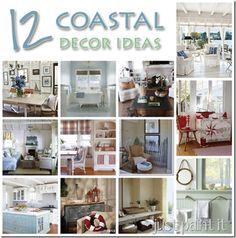 Coastal Décor Ideas - Just Paint It Blog