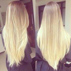 ~long blonde hair<3