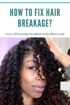 Here are the most common five reasons, i believe, based on the science of hair why that's happening. Natural Hair Growth, Natural Hair Styles, Hair Breakage, Most Common, African American Hairstyles, Hair Videos, Textured Hair, Your Hair, Science