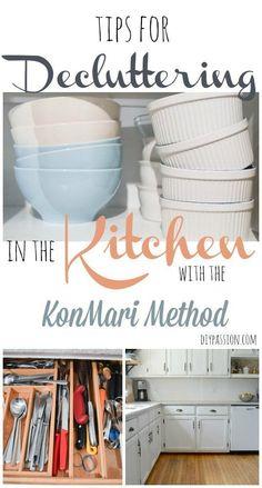 Decluttering The Kitchen | KonMari Week 7 #SparkingJoy - DIY Passion