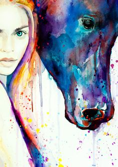 Horse Girl watercolor painting print, Fashion Illustration, Horse art, Woman art, Girl Illustration, watercolour, Girl art, art print  This is a print of my original painting. Printed especially for you!  Item DESCRIPTION SIZE: Standard sizes, fit in frames found in big shops like IKEA 8x10(20cmx25cm) - leaving extra for matting - US 8x12(20cmx30cm) - leaving extra for matting - EU 12x16(30cmx40cm) - leaving extra for matting 16x20(40cmx50cm) - leaving extra for matting 20x28(50cmx70cm)…
