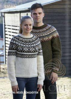 Ístex Lopi No. 33 pattern book lopapeysa Iceland knitting