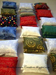 Make handwarmers for your Christmas Carolers!