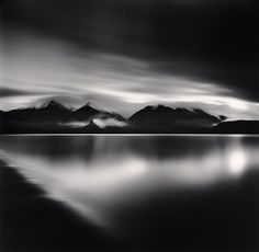 Michael Kenna - Evening Light, Lake Manapouri, Southland, New Zealand, 2013
