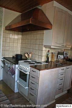 keittiö,remontti,ennen Huuva uuneille
