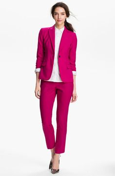 Pink Suit!!   Vince Camuto Blazer, Pants & Halogen® Shirt | Nordstrom