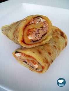 Mlewi au thon / Recette tunisienne