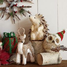winter+theme+with+woodland+animals | winter wonderland woodland creatures!!!!