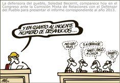 [Forges] Fíjate bien porque esto es lo que verdaderamente piensan los políticos en nosotros Forges en El País 18/03/2014  Anuncios