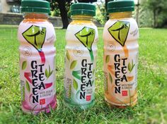 Tg iced Green tea collection: Green tea & Ginseng, Green Tea & Mandarin and Green Tea & Jujube