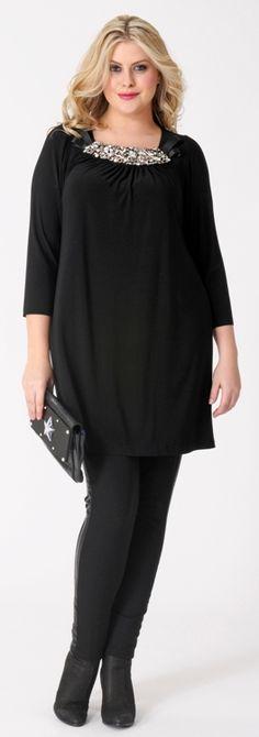 Negro, elegante, casual. #Moda
